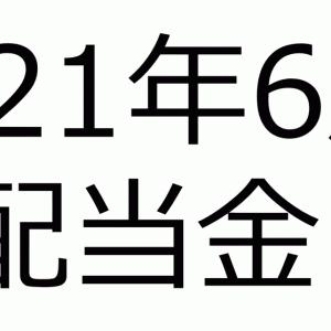 2021年6月の配当金 ~現在アッパーマス層~