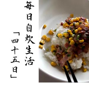 【自炊】シンプルなペッパーライスで優勝する。毎日自炊生活「四十五日目」