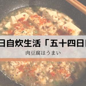 【簡単】肉豆腐にはまった。毎日自炊生活「五十四日目」