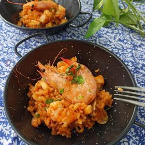 スペイン料理ミックスパエリア オンラインレッスン