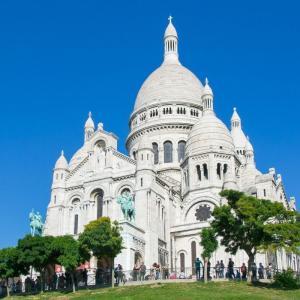 【フランス・パリ】モンマルトルのサクレクール寺院の見どころを紹介 パリ市内が一望でき絶景ベストスポットです