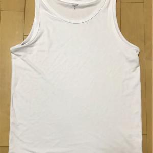 【Tシャツに効果的なアクセント】GUのドライポンチロングタンクトップQを紹介!!