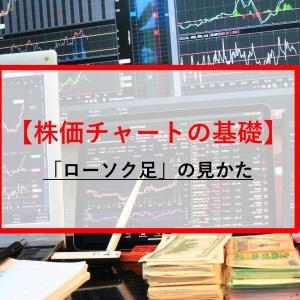 【お金の動き】意外と知らない株価「ローソク足」チャートの見かたーテクニカル分析の基礎ー