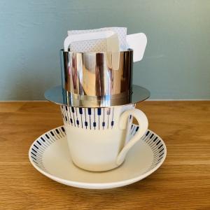 【ドリップバッグコーヒーホルダー】浸らず快適。使ってみたら大満足