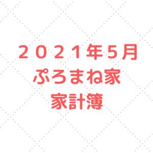 【5人家族の家計簿公開】2021年5月度の家計簿。合計支出がとんでもない。