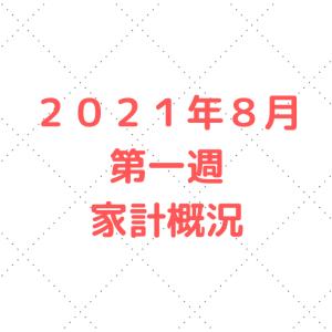 【資産状況】2021年8月第一週 5人家族の家計管理