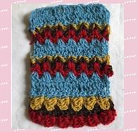 【鱗文様風】セーター編みたい!和文様をフェアアイル風にするはずが…