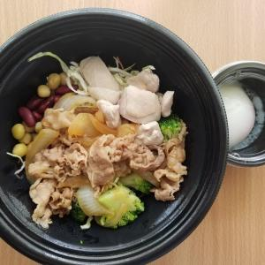 主婦のお昼ごはん❗~ライザップ牛サラダ&ひじき!