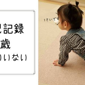 1歳女の子イラスト記録☆いないいない