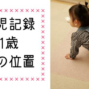 1歳1ヶ月女の子イラスト記録☆耳の位置