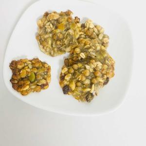 【ミニマルレシピ】材料2つ!バナナとグラノーラのクッキー