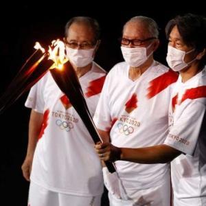 聖火ランナー松井秀喜登場に対するアメリカメディアの反応шшшшш