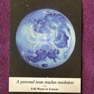 西洋占星術で木星の意味が腑に落ちた事。ムーンオロジーオラクルからのメッセージ付き。