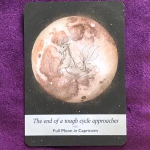 山羊座満月のお勧めアクションは仕事の見直し。夏至と木星逆行に背中を押されるイメージ。