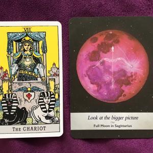 蟹座新月にカードからのメッセージ。新月だけどスタートより見直し色が強かった~
