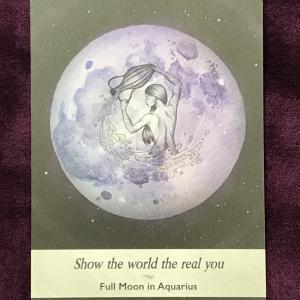 水瓶座満月のお勧めアクション。西洋占星術のモニター募集&オンライン鑑定の再開!