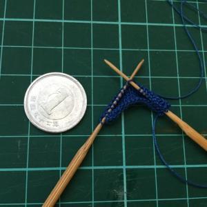 【Make】棒針編みのゲージ