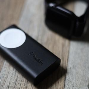 【超コンパクト】Belkin BOOST CHARGE Apple Watch用モバイルバッテリーレビュー