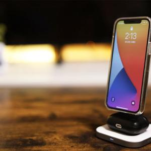 Satechi 2-in-1 MAGNETIC WIRESS CHARGING STANDレビュー|iPhoneとAirPodsを同時充電