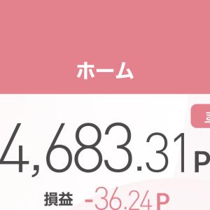 〜ポイントで株取引〜2021年3月26日