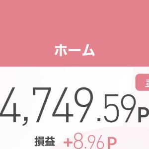 〜ポイントで株取引〜2021年4月2日