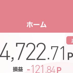 〜ポイントで株取引〜2021年5月10日〜