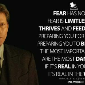 FEAR HAS NO END. FEAR IS LIMITLESS.