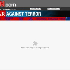 【.swf】米同時多発テロの報道記録、「フラッシュ」終了で閲覧できず ネットの進化が追い打ちに  [oops★]