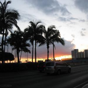 お元気ですか?私は今、ハワイで保養中です。