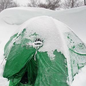雪山のテント泊で覚えておきたい、ちょっとした知識