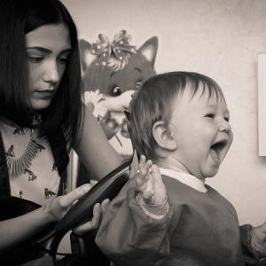 イレブンカットは子供もOK!1歳10ヶ月の娘が美容室デビュー【口コミ】
