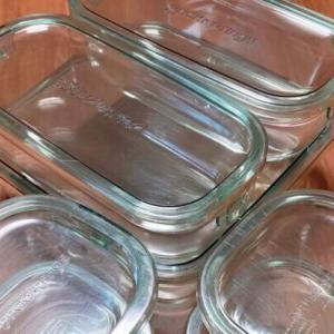 臭わずお手入れ簡単♪保存容器(タッパー)はiwakiのガラス製!