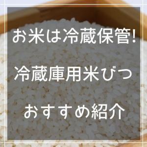 お米は冷蔵庫で保管!おすすめの冷蔵庫用米びつを紹介