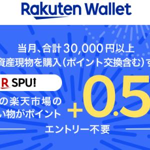 仮想通貨取引の楽天ウォレットがSPU対象に!これによりSPUは最大15.5倍に