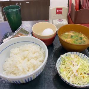 シンプルにいきたい朝「卵かけご飯」が食べたい!なか卯の朝食の定番でそれを叶える!