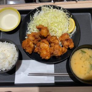 大きさ味付け変わって食べやすくなった?松のやの唐揚げ定食