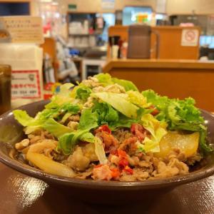 メリハリのある食感が、甘さをクッキリさせている!【すき家】ハニマスレタス牛丼