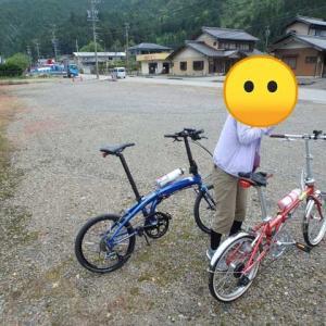 ミニベロサイクリング:妻と川浦渓谷までポタリングしてきた