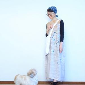 リネンのあさやけプリントドレスで自分の好きを探してみた~