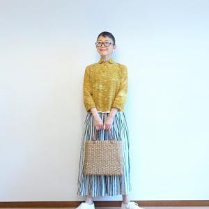 リネンのギャザースカートの定番コーデ&これからの私が似合う服 vol2 春夏号~