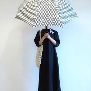 雨の日のモノトーンコーデ~
