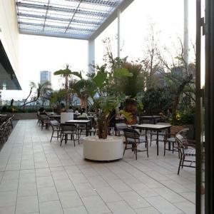 アトレ恵比寿☆西館の空中庭園♪
