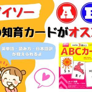 【ダイソー】英語知育カードは100円なのに入門に最適だった!