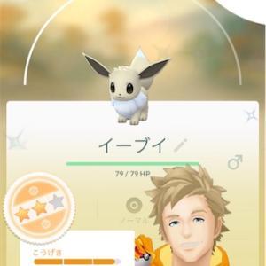 【ポケモンGO】色違イーブイ、ゲットだぜ☆【プレイ記録】Step.1