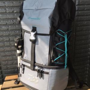 エギングで活躍するバッグ エメラルダス タクティカル バックパック(B)を使用してみて【インプレ】