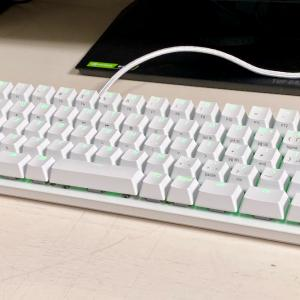 Razer Huntsman Mini JP 60%ゲーミングキーボードレビュー・コンパクトさと心地よい打鍵感でゲームの腕前は向上!普段使いには慣れが必須
