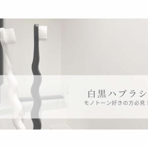 【楽天】歯科衛生士が選ぶ!白・黒ハブラシ|モノトーン好きの方必見です
