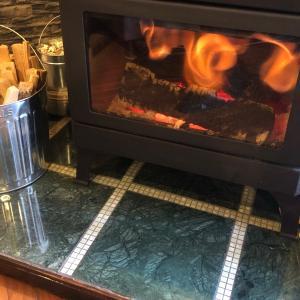 別荘DIY 大理石の炉台を作る【後半】