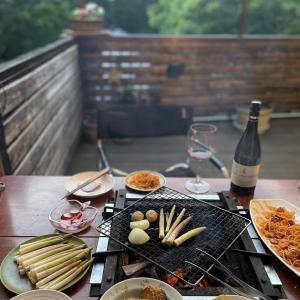 軽井沢発地市庭〜キャンプ食材調達