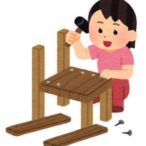 別荘DIY シンプルな薪棚を作った